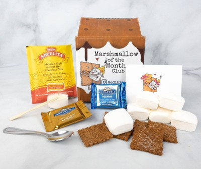Marshmallow of the Month Club by Edible Opus May 2021 Subscription Box Review