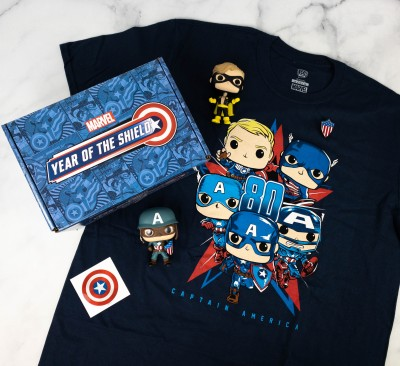 Marvel Collector Corps Review – YEAR OF THE SHIELD (CAPTAIN AMERICA)! – May 2021