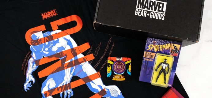 Marvel Gear + Goods May 2021 Review + Coupon – LEGEND