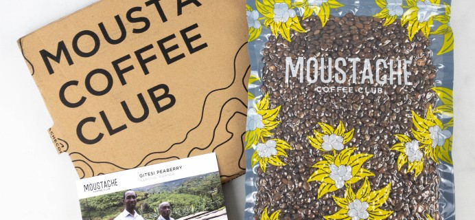 Moustache Coffee Club Subscription Review + Coupon – Gitesi Peaberry