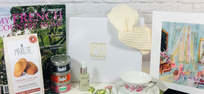 My French Country Home Box Review – May 2021 Time for Moi-Meme