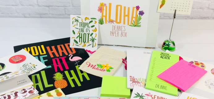 My Paper Box July 2021 Subscription Box Review + Coupon