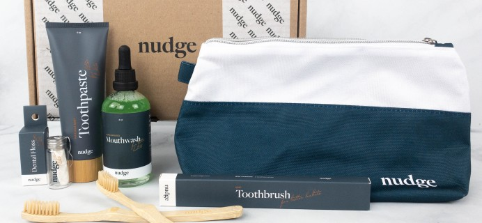 Nudge Oral Care Box Review + Coupon