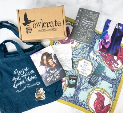 OwlCrate May 2021 Review + Coupon – EXPECT THE UNEXPECTED!
