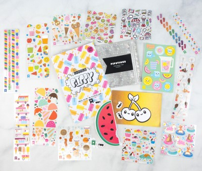 Pipsticks Kids Club Classic June 2021 Sticker Subscription Review + Coupon!