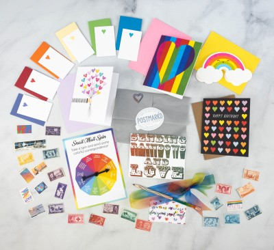 Postmark'd PostBox June 2021 Subscription Review + Coupon