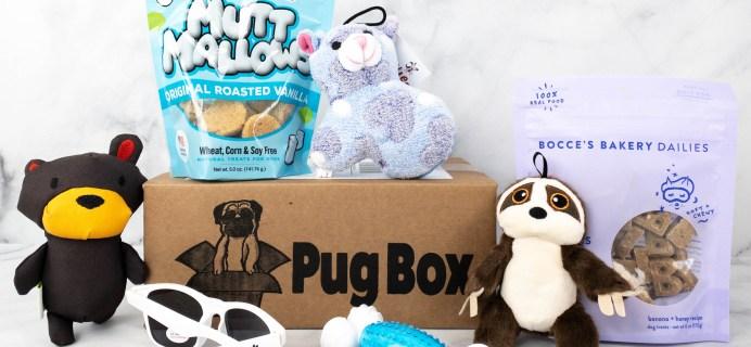 Pug Box Review + Coupon – June 2021