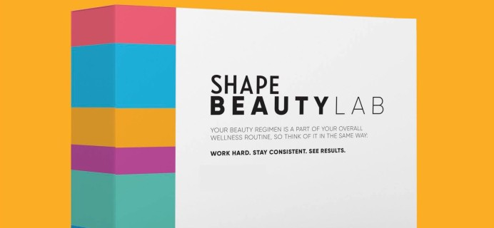 SHAPE Beauty Lab Box Summer 2021 Box Available Now + Full Spoilers!