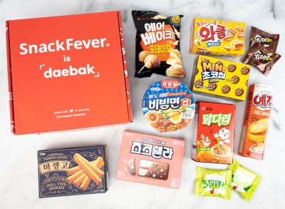Snack Fever Review + Coupon – June 2021 Deluxe Box!