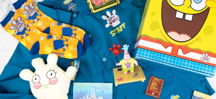 Spongebob Squarepants Bikini Bottom Box Review: Spring 2021