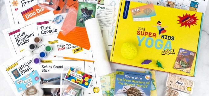 Super Kids Yoga Box May-June 2021 Subscription Box Review