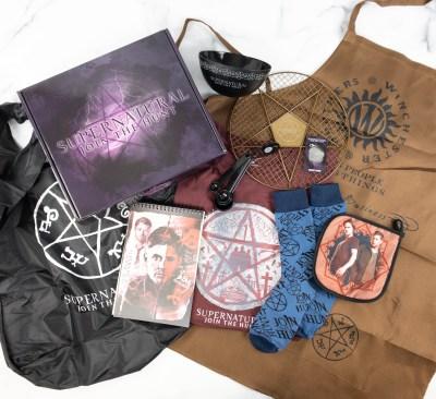 Supernatural Box Review – Spring 2021