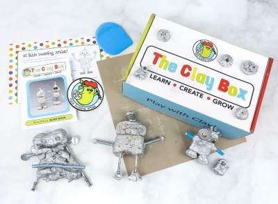 The Clay Box: RUSTY ROBOTS Box Review