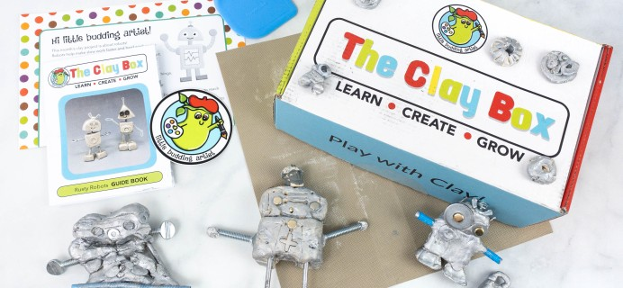 The Clay Box: RUSTY ROBOTS Box Review + Coupon!