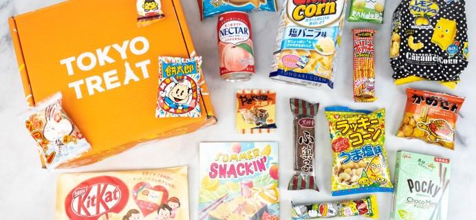 Tokyo Treat July 2021 Subscription Box Review + Coupon