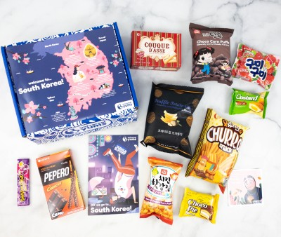 Universal Yums Subscription Box Review + Coupon – SOUTH KOREA