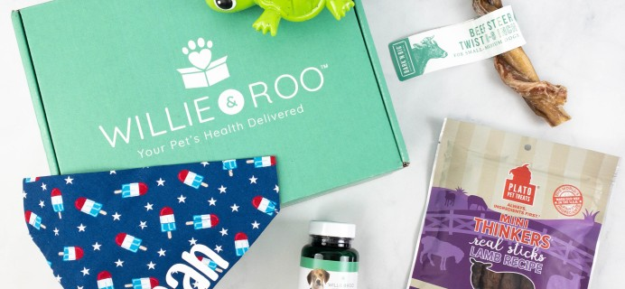 Willie & Roo Dog Subscription Box Review + Coupon – June 2021