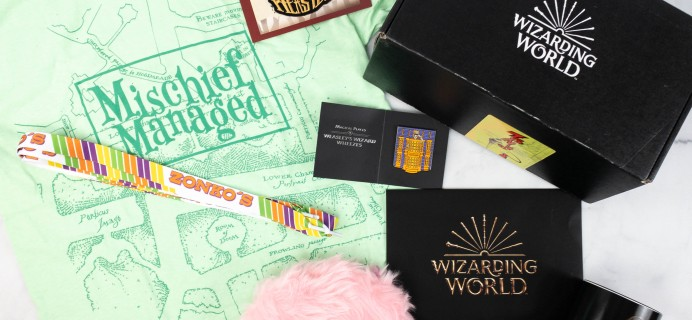 JK Rowling's Wizarding World Crate May 2021 NOBODY'S PREFECT! Review + Coupon