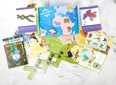 WompleBox by Womple Studios Subscription Box Review + Coupon – BRAZIL