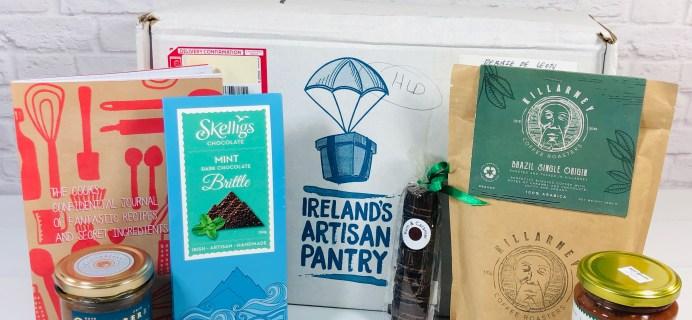 Ireland's Artisan Pantry June 2021 Subscription Box Review
