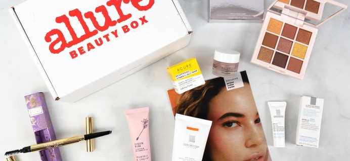 Allure Beauty Box July 2021 Review & Coupon