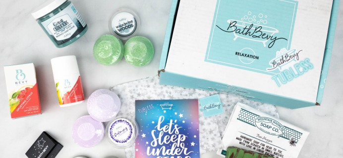 Bath Bevy TUBLESS BOX Review + Coupon – July 2021