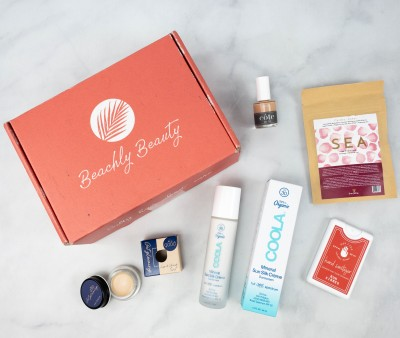 Beachly Beauty Box Review + Coupon – July 2021