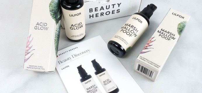 Beauty Heroes July 2021 Subscription Box Review
