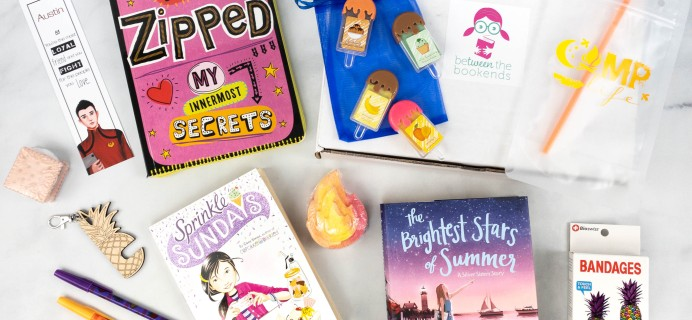 beTWEEN the Bookends July 2021 Subscription Box Review + Coupon