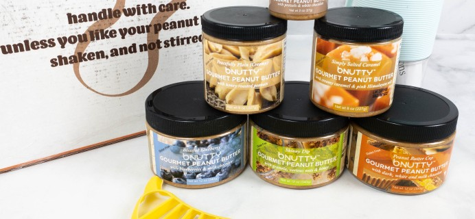 bNutty Gourmet Peanut Butter July 2021 Subscription Box Review