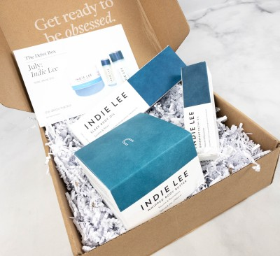 The Detox Box July 2021 Review: INDIE LEE