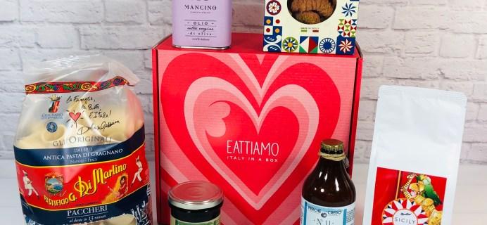 EatTiamo July 2021 Review + Coupon: Italian Gourmet Subscription Box