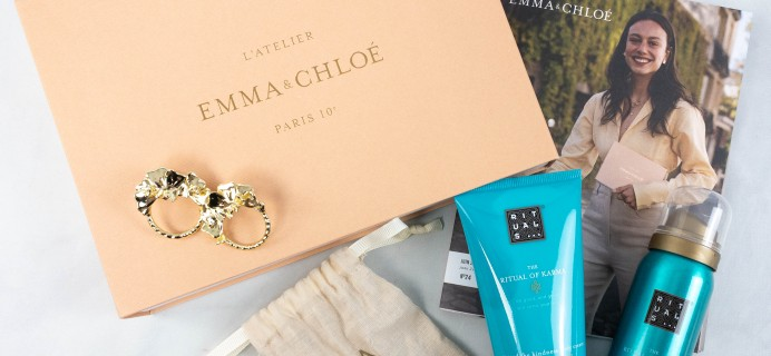 Emma & Chloe June 2021 Jewelry Subscription Box Review