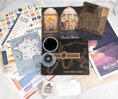Finders Seekers Subscription Box Review + Coupon – NORMANDIE, FRANCE