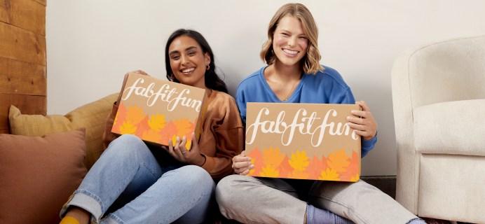 FabFitFun Fall 2021 Selection Time For Seasonal Members Open Now!