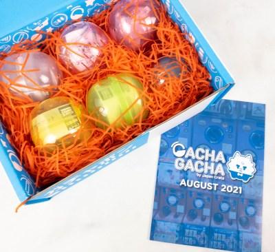 Gacha Gacha Crate August 2021 FULL Spoilers + Coupon!