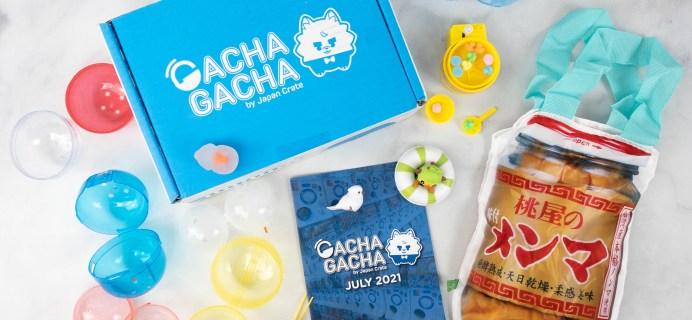Gacha Gacha Crate Review + Coupon: July 2021