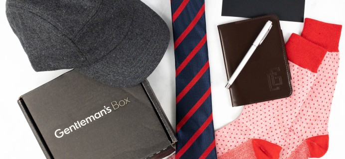 The Gentleman's Box July 2021 Subscription Box Review + Coupon
