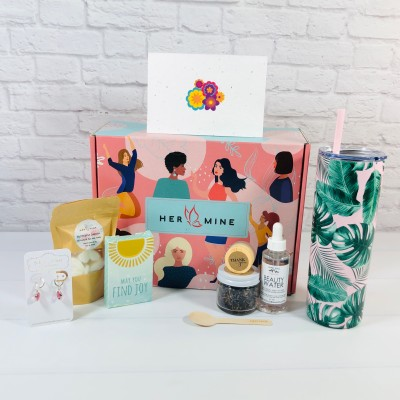 HER-MINE Box July 2021 Subscription Box Review + Coupon