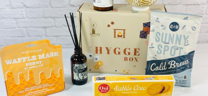 Hygge Box Review – July 2021 Deluxe Box