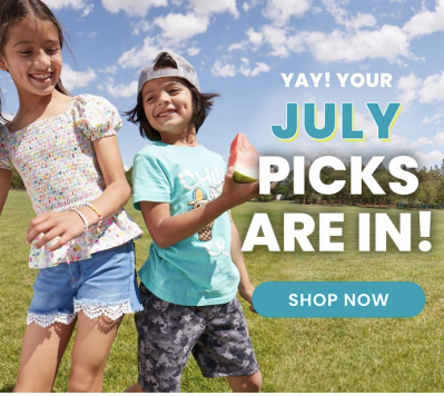 FabKids July 2021 Collection Reveal + Coupon!