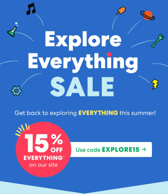 KiwiCo Fourth of July Sale: Get 15% Off EVERYTHING!