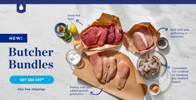 Blue Apron Butcher Bundles + Flash Sale: Get $80 Off!