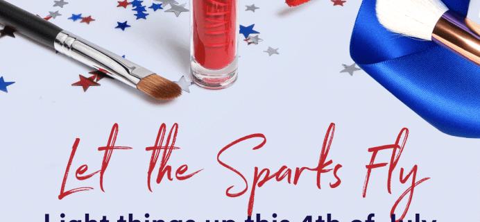 LiveGlam Lippie Club + Eyeshadow Club + Brush Club Fourth of July Sale: Get FREE Lippies OR Brushes!