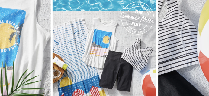 Wantable Active Limited Edition Summer Miles Edit: Looks That Make It Fun To Get Your Miles In!