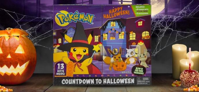 2021 Pokemon Halloween Countdown Calendar + Spoilers!