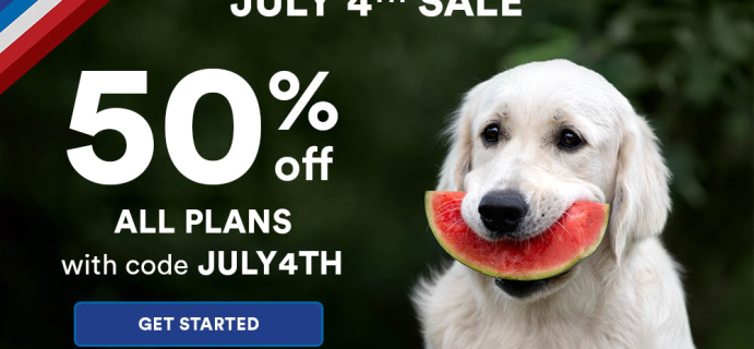 Spot and Tango Fourth of July Sale: Get 50% Off All Premium Dog Food Trial Plans!