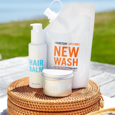 Hairstory New Wash: FREE Travel Bottle & Shipping With Subscription!