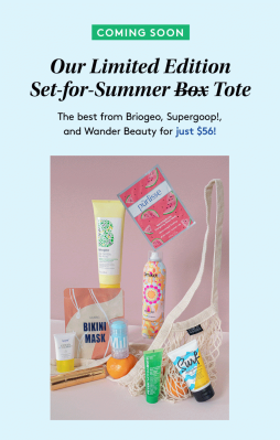Birchbox Limited Edition Set For Summer Beauty Tote: Full Spoilers + Coupon!