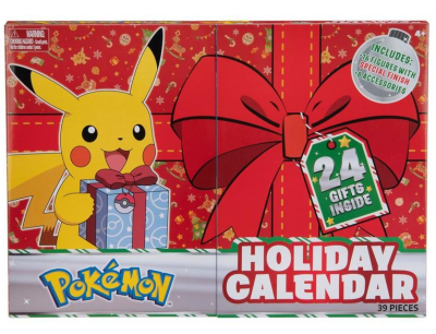 2021 Pokemon Holiday Advent Calendar Available Now for Preorder + Spoilers!